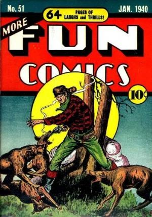 (DC) Cover for More Fun Comics #51 Cameo: The Spectre