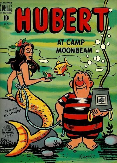 Comic Cover for Hubert (Four Color) (#251)