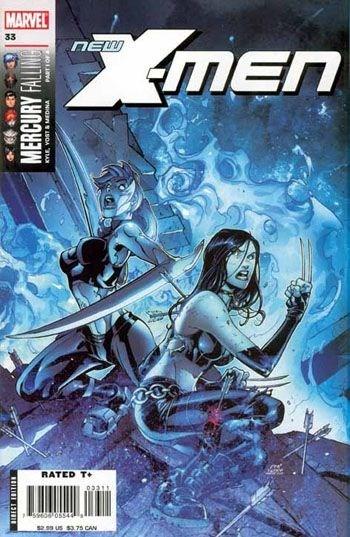(Marvel) Cover for New X-Men #33