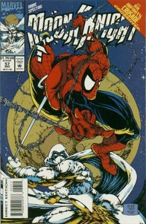 (Marvel) Cover for Marc Spector: Moon Knight #57 Amazing Spider-Man #300 Homage