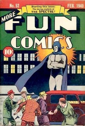 (DC) Cover for More Fun Comics #52 1st Appearance and Origin of The Spectre