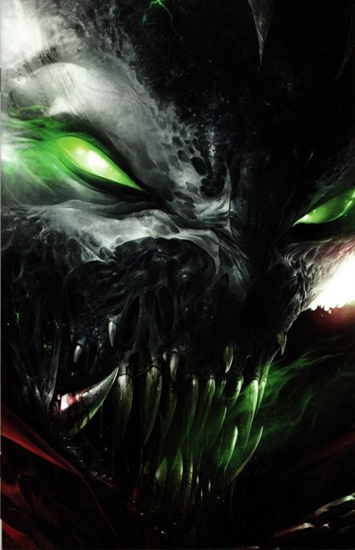 (Image) Cover for Spawn #292 Cover B by Francesco Mattina Virgin Variant Cover