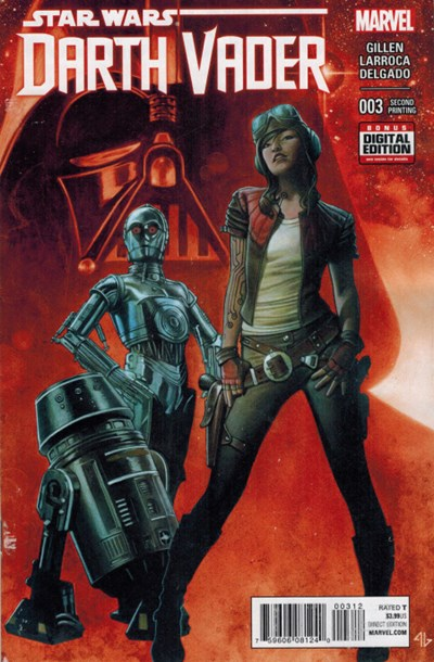 (Marvel) Cover for Darth Vader #3 Second Printing