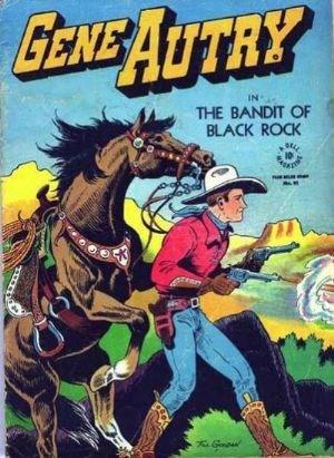 Comic Cover for Gene Autry Comics (Four-Color) (#93)