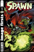 SPAWN #1E  Variant Cover Image Firsts Edition Second Printing
