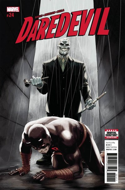 Comic Cover for Daredevil (#24)