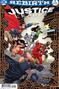 JUSTICE LEAGUE #12A  Variant Cover Yanick Paquette Variant Cover