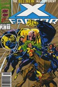 X-FACTOR #71B  Variant Cover Second Printing