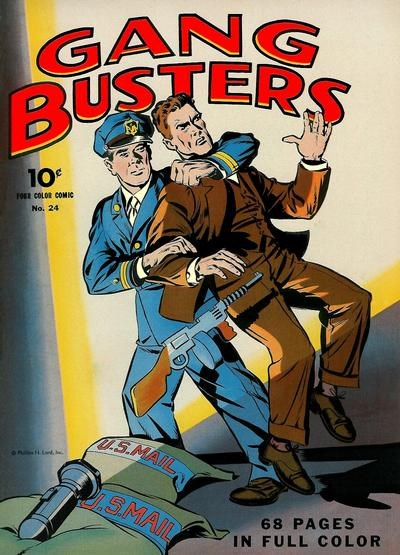 Comic Cover for Gang Busters (Four-Color) (#24)