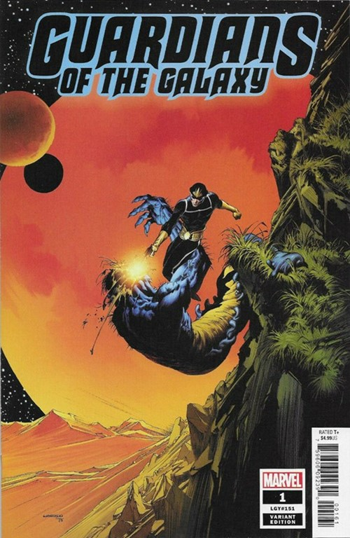 (Marvel) Cover for Guardians Of The Galaxy #1 Bernie Wrightson Hidden Gem Variant Cover