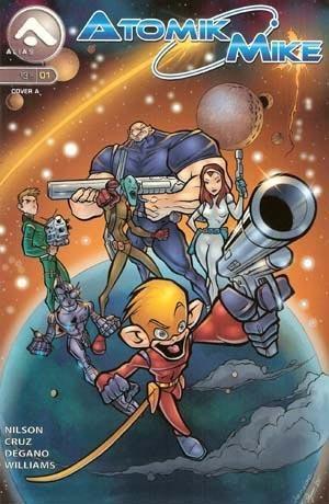 (Alias Enterprises) Cover for Atomik Mike  #1 Standard Edition
