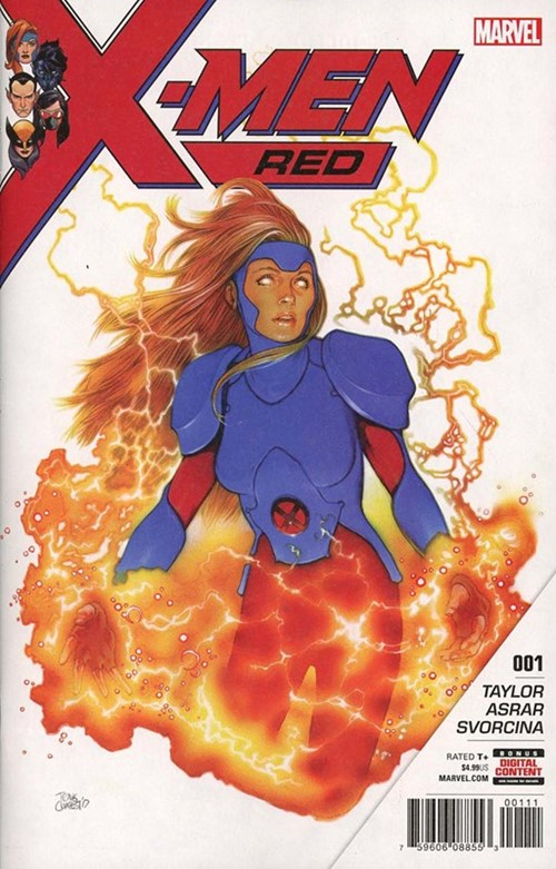 Comic Cover for X-Men: Red (#1)