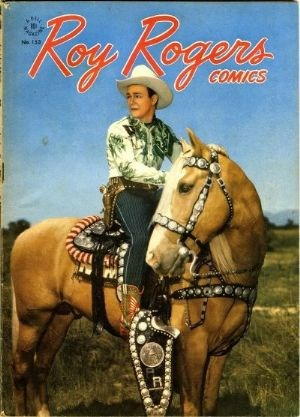 Comic Cover for Roy Rogers Comics (Four Color) (#153)