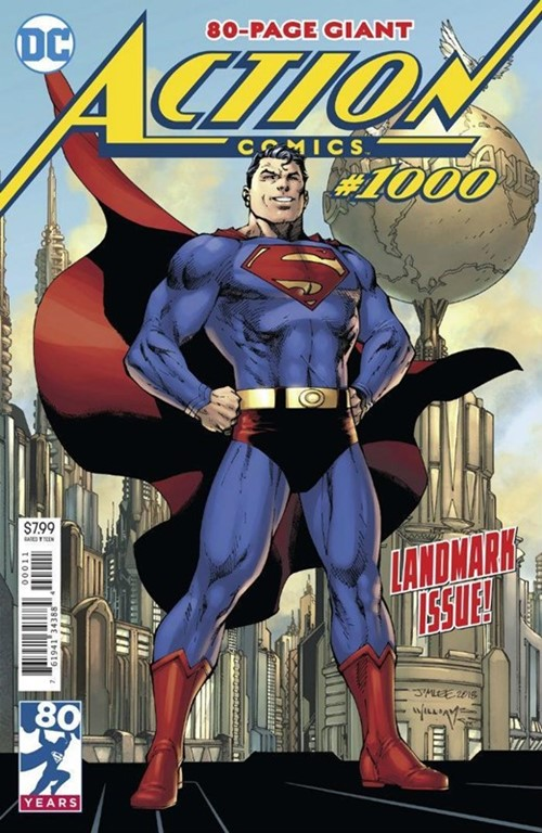 (DC) Cover for Action Comics #1000 1st Appearance of Rogal Zaar