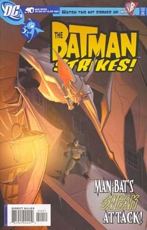 (DC) Cover for Batman Strikes!, The #10
