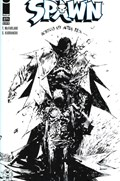 SPAWN #271A  Variant Cover Hicham Habchi Black & White Variant Cover