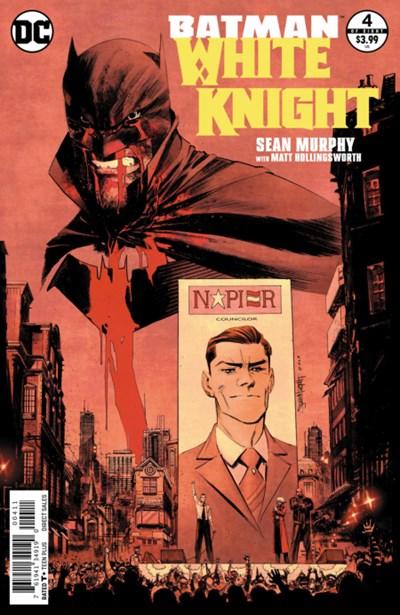 Comic Cover for Batman: White Knight (#4)