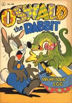 Comic Cover for Oswald The Rabbit (Four-Color) (#143)