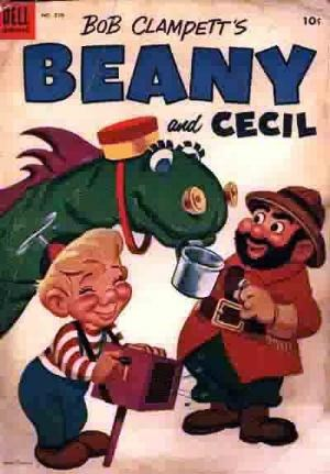 (Dell) Cover for Beany And Cecil (Four-Color) #570