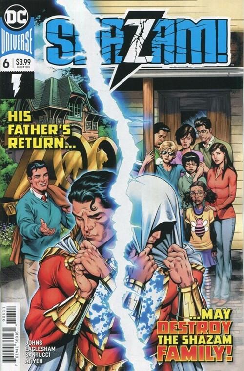 (DC) Cover for Shazam! #6