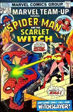 Comic Cover for Marvel Team-Up (#41)