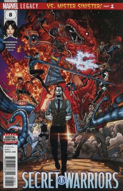 Comic Cover for Secret Warriors (#8)