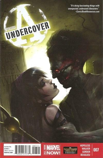 (Marvel) Cover for Avengers Undercover #7