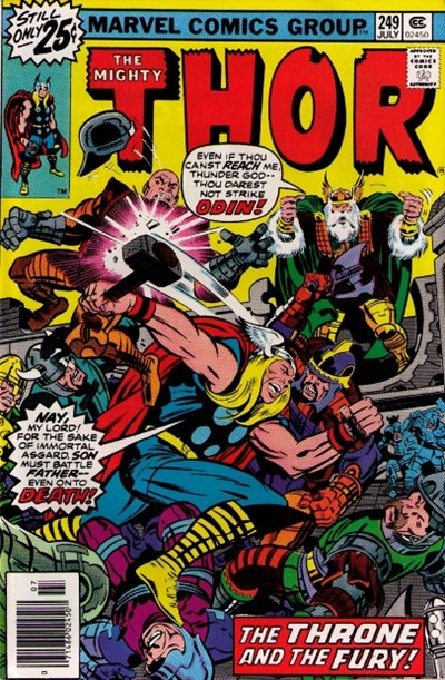 Comic Cover for Thor (#249)