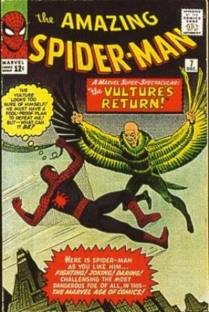 (Marvel) Cover for Amazing Spider-Man, The #7 2nd Appearance of The Vulture (Adrian Toomes)