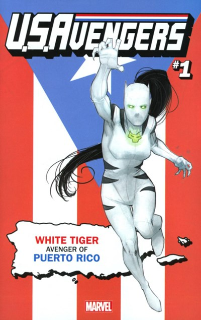 (Marvel) Cover for U.S.Avengers #1 Rod Reis Puerto Rico Variant Cover