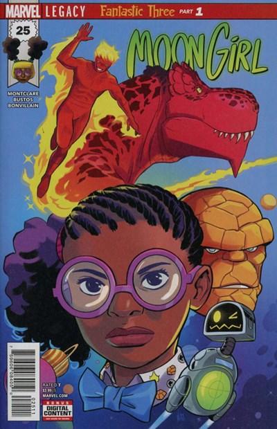 Comic Cover for Moon Girl And Devil Dinosaur (#25)
