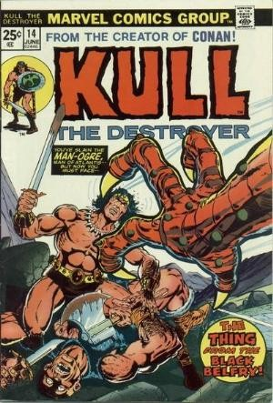 Comic Cover for Kull The Destroyer  (#14)