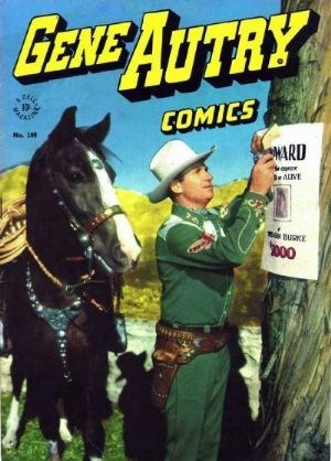 Comic Cover for Gene Autry Comics (Four-Color) (#100)