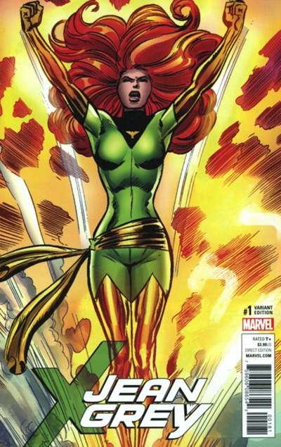(Marvel) Cover for Jean Grey #1 Dave Cockrum Remastered Variant Cover. Limited 1 for 1000.