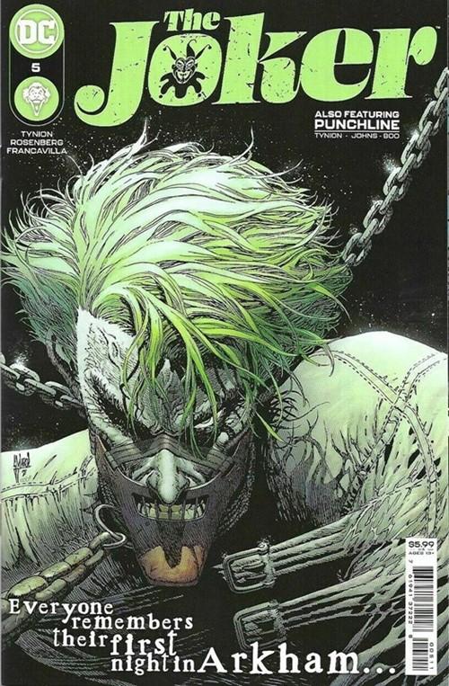 (DC) Cover for Joker, The #5