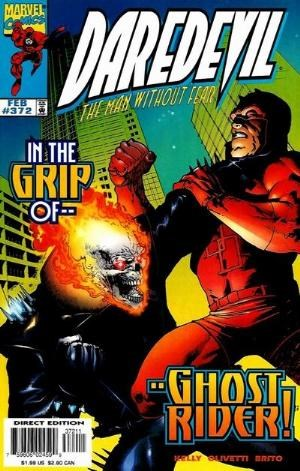 Comic Cover for Daredevil (#372)