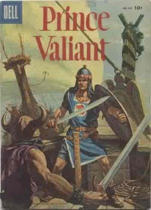 (Dell) Cover for Prince Valiant (Four Color) #650