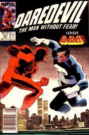 Comic Cover for Daredevil (#257)