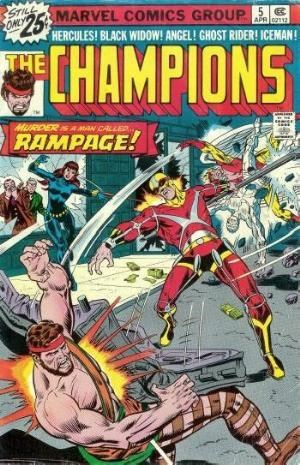 Comic Cover for Champions, The (#5)
