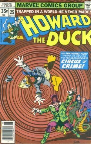(Marvel) Cover for Howard The Duck #25