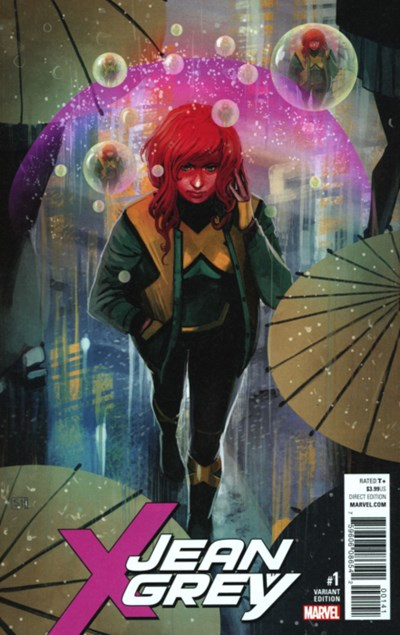 (Marvel) Cover for Jean Grey #1 Stephanie Hans Variant Cover. Limited 1 for 50.
