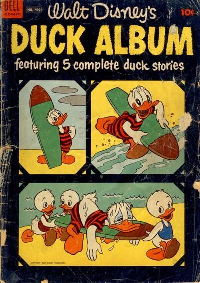 (Dell) Cover for Duck Album (Four Color) #492
