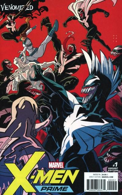 (Marvel) Cover for X-Men Prime #1 Kris Anka Venomized Variant Cover