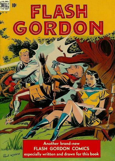 Comic Cover for Flash Gordon (Four-Color) (#190)