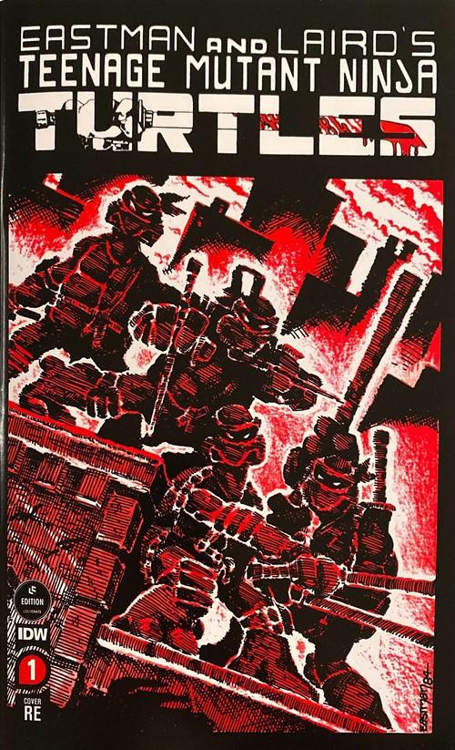(Mirage Studios) Cover for Teenage Mutant Ninja Turtles #1 Loot Crate Reprint