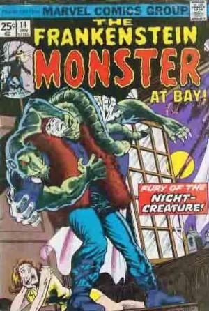 Comic Cover for Frankenstein (#14)