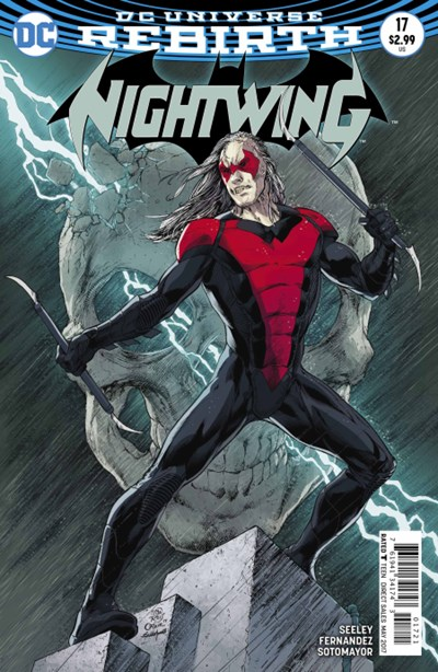 Comic Cover for Nightwing (#17)