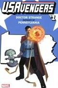 U.S.AVENGERS #1RR  Variant Cover Rod Reis Pennsylvania State Variant Cover