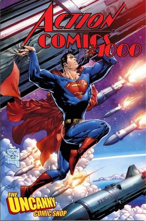 (DC) Cover for Action Comics #1000 Uncanny Comic Shop Exclusive Tony Daniel Variant Cover