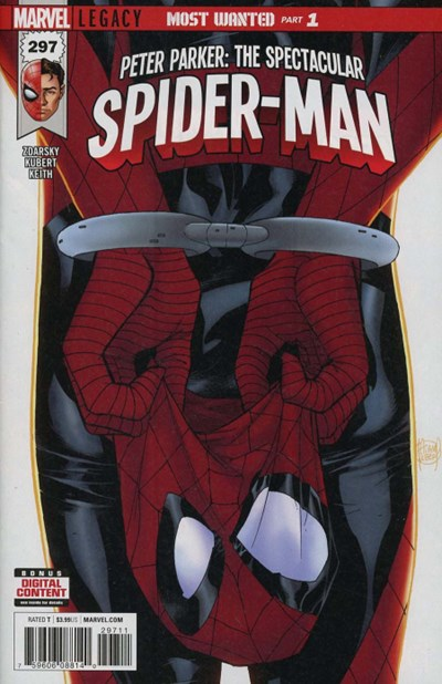 Comic Cover for Peter Parker: The Spectacular Spider-Man (Marvel Legacy) (#297)